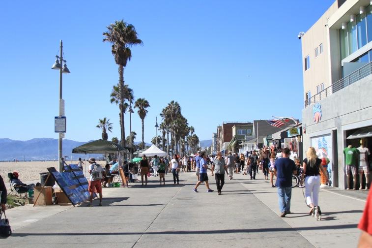 Venice Boardwalk - o calçadão esquisitão de Venice Beach
