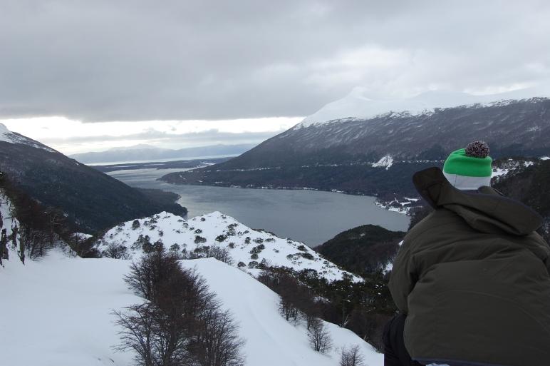 Vista do Lago Escondido e do Lago Fagnano