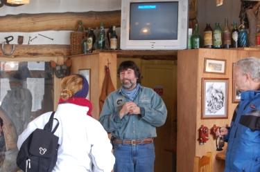 Gato Curuchet, o proprietário de Valle de Lobos
