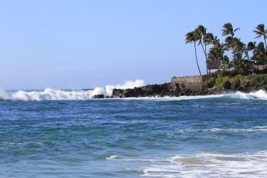 A famosa onda de Waimea