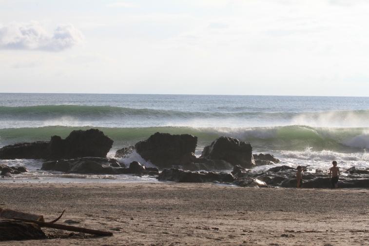 Swell baixo em Santa Teresa