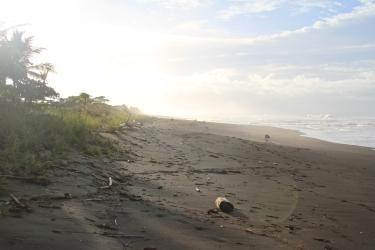 Playa Hermosa ao amanhecer