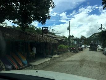 A rua central de Santa Teresa