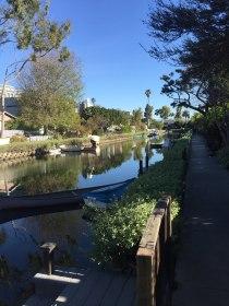 Os canais de Venice Beach